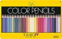 色鉛筆<缶ケース入り>36色(cb-nq36c)【鉛筆名入れ...