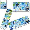 ディズニーミッキーマウス「MICKY MOUSE(MKS)」鉛筆B+色鉛筆12色4点文具セット(11mks-B+12c-4s...