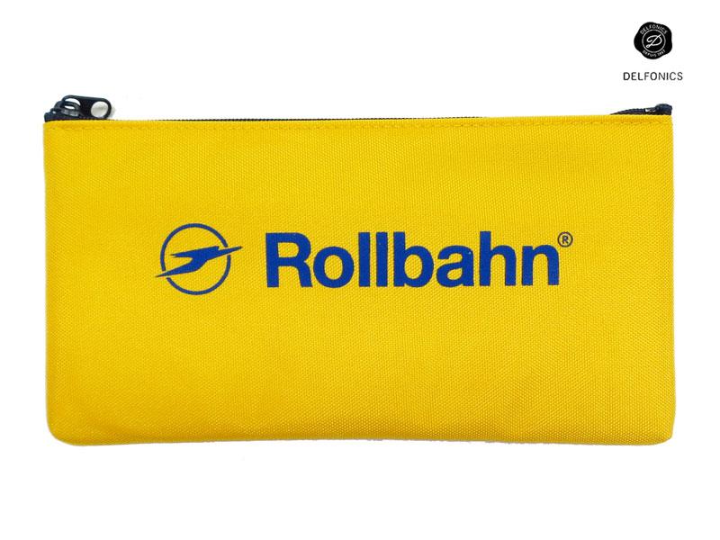 【ペンケース】DELFONICSデルフォニックスRollbahnロルバーンフラットペンケース 500472 全4色