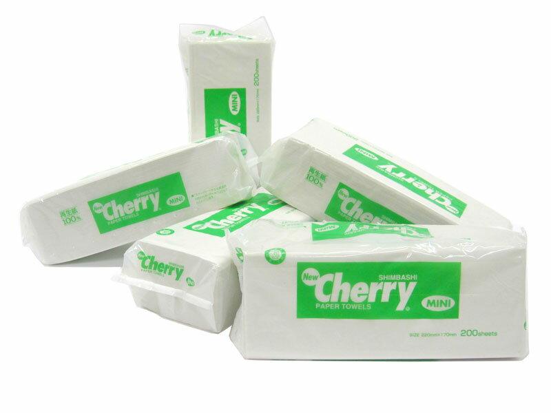 【ペーパータオル】ニューチェリー ミニNew Cherry Mini1ケース(48個入り)