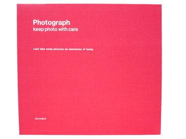 【アルバム】DELFONICS デルフォニックスPDフォトアルバム リングL 500174(PD04)CP コーラルピンク