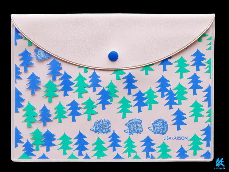 【ビニールケース】Lisa Larson リサラーソンA6 ビニールフラットケースLL162 全3色