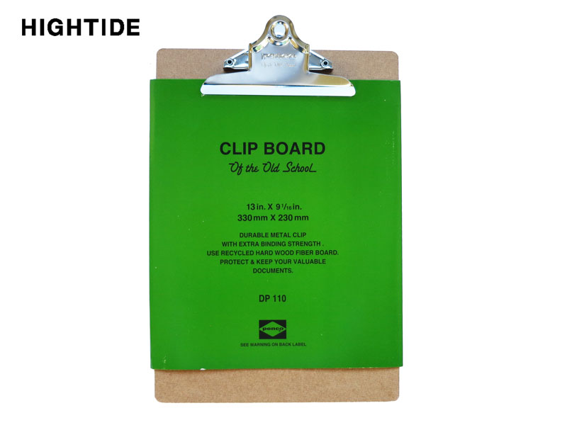 【クリップボード】HIGHTIDE ハイタイドPENCO ペンコクリップボード O/S A4DP110