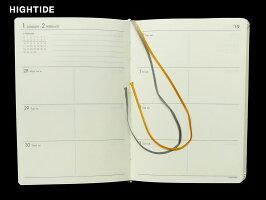 【ダイアリー手帳】HIGHTIDEハイタイドダイアリー手帳2018年10月始まり2019年12月2019年版A6ブロックオヤコパンダNA-1全4色