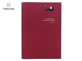 【ダイアリー手帳】l'absurdeラアプス2018年11月始まり2019年12月2019年版B6サイズマンスリーTRIPトリップ全4色