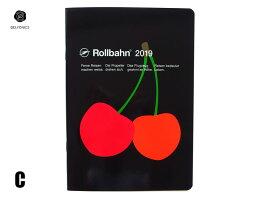 【ダイアリー手帳】DELFONICSデルフォニックスRollbahnロルバーンノートダイアリーフルーツA5全3色2018年10月はじまり2019年12月版