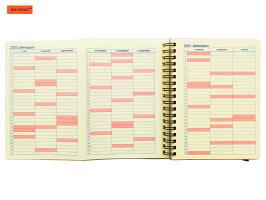 【ダイアリー手帳】DELFONICSデルフォニックスロルバーンダイアリーマウスL2019年10月〜2020年12月全3色