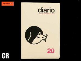 【ダイアリー手帳】DELFONICSデルフォニックスマンスリーマウス100074全8色2019年10月はじまり2020年12月版