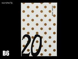 【ダイアリー手帳】MARK'Sマークスダイアリー手帳B6ウィークリーレフトマグネット202019年10月はじまり2021年1月版