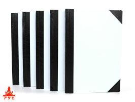 【アサヒの和帳】芳名帳立罫10行65号中判100枚綴り