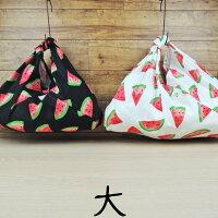 kami-to-nunoのあずま袋★スイカ(大:肩掛けサイズ)MadeinJapan