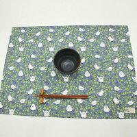 エナガと木の実のランチョンマット45×60cm(LL2)MadeinJapan