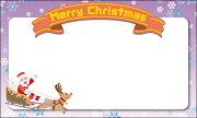 クリスマスカード メッセージ デザインメッセージカードミニ ミニメッセージカード ネコポス