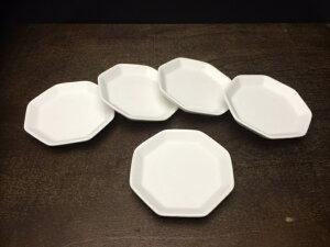 盛り塩に最適な素焼きのお皿 素焼き八角皿セット2寸【盛り塩セット用】
