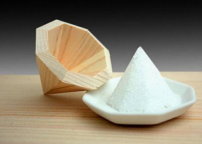 盛塩桧八角盛り塩器国産ひのき製