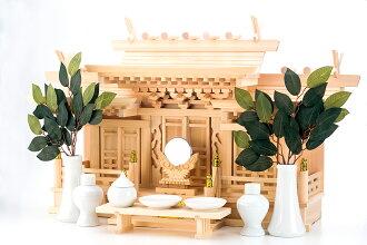 Altar マス組 with karato Sanja deals set kamidana (Shinto God gear )