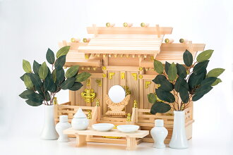[a household Shinto altar] Three of roof difference Aoi (the small) household Shinto altar profit household Shinto altar sets [free shipping]