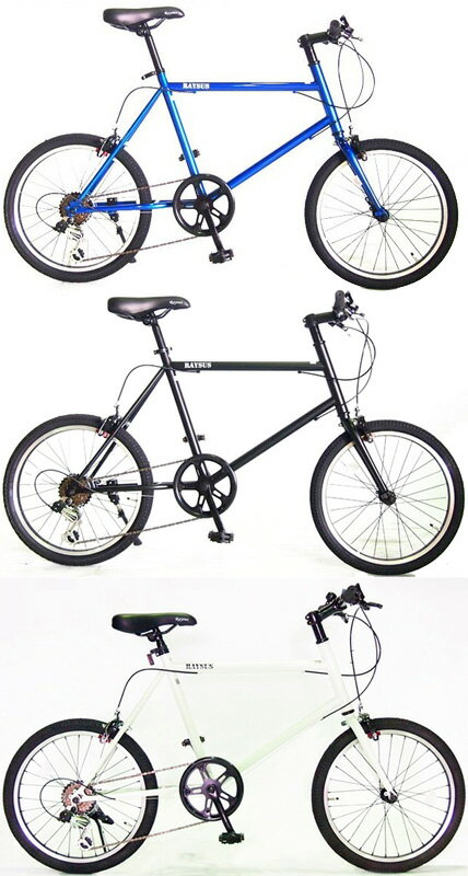 自転車・サイクリング, 小径自転車・ミニベロ  20 6 MINIVELOV
