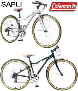 コールマン 700C約27インチ自転車クロスバイクスタイリッシュシティーサイクルシマノ製6段変速...