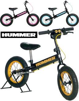 悍馬 12 寸自行車輪胎,不平衡的自行車刹車站培訓注重穩定性厚車胎悍馬兒童學員嬰兒車黑平衡自行車和平粉色藍色黃色的見習自行車