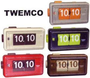 TWEMCO AL-30トゥエンコ パタパタクロック デスククロックトゥウェムコ 置き時計 デジタルア...