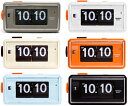 ミッドセンチュリーデザインパタパタ目覚まし時計 レンガTWEMCO トゥエンコ パタパタクロック デスククロックトゥウェムコ 置き時計 デジタルアラームクロック 目覚まし時計ライトブルー グレー ブラック ホワイト オレンジ ベージュの写真