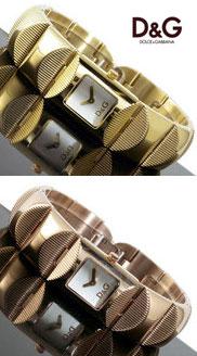 ドルチェ&ガッバーナ ウォッチ ツイード ツィードD&G WATCH TWEED DW0323 DW0324バングルタイプでブレスレットとしてもお使い頂けますゴールド ピンクゴールド 腕時計 アナログ