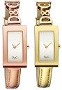 ドルチェ&ガッバーナ ウォッチ ミラノDG TIME WATCH MilanoDGのロゴ金具×レザーバンドブレスレット&バングルとしてアクセサリーとしてもOKリストウォッチ腕時計 アナログDOLCE&GABBANAドルガバディー&ジーレディース
