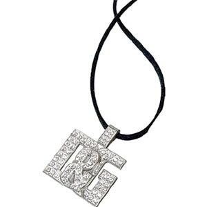 D&G Necklace Jewelry Rhinestone Logo D&G Top Pendant Jewelry DJ0529DOLCE&GABBANA Necklace Dolce&Gabbana Dolgaba Ladies