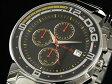 DOLCE&GABBANA D&G WATCHドルチェ&ガッバーナドルガバメンズクロノグラフウォッチブラック×シルバー 腕時計 ビッグフィッシュカレダンー表示付きステンレスベルト&ケースBIG FISH 男性用
