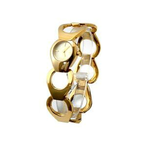 DOLCE&GABBANA D&G Dolce&Gabbana watch flat head D&G TIME watch FLAT HEAD analog bracelet type Gold Dolce&G Ladies watch ring bracelet breath accessories