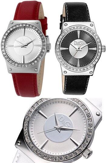 腕時計, レディース腕時計 DG DOLCEGABBANA DW0526REDW0524WHDW0528BK Sandance