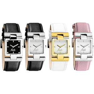 D & G 손목 시계 Dolgaba 아날로그 시계 Courmayeur 블랙 화이트 핑크 실버 골드 DOLCE & GABBANA Courmayeur DW0632 DW0633 DW0634PKDW0635 D & G 숙녀 Dolce & Gabbana 액세서리 팔찌