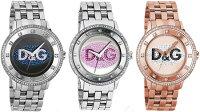 ドルチェ&ガッバーナ腕時計プライムタイムD&GTIMEwatchPRIMETIMEDW0131アナログラインストーンステンレスブレスDOLCE&GABBANAドルガバディー&ジーメンズレディース