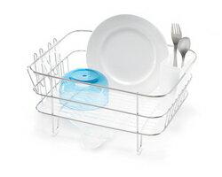 緊湊的夠意思架餐具架有水滴灌託盤和杯架是可移動的簡單人類 simplehuman 廚房架 kt1036