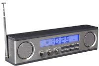 LEXONLA75LONGLCDCLOCKradioレクソンロングLCDクロックラジオAMラジオ・FMラジオステレオMP3アンプブラック、ホワイト、ガンメタ