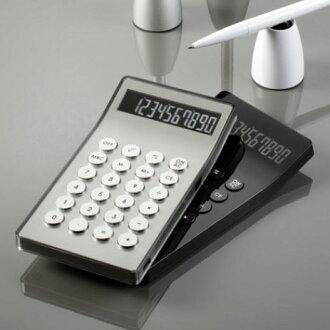 如果哥達瓦裡河設計華利 LC23 計算機黑色銀色計算機 rexon 也圓按鈕在工作 ! 10 位數計算機鋁塑膠案件計算機的設計師 · 巴蒂斯特 · Lanne