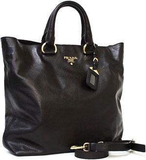 981c003a0f6b8b PRADA Soft Calf Chain Tote Nero Black. kaminorth shop | Rakuten Global  Market: PRADA Prada shoulder tote .