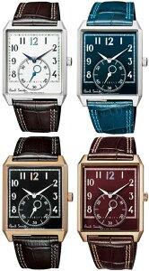 Paul Smith ポールスミス腕時計メンズアナログウォッチダークブラウン ネイビー ブラッククラシカルクロコ型押しレザーベルトダブルステッチストラップウエストミンスター宮殿 時計台390DBRWESTMINSTER190NV