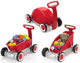 3種類の遊び方ができるワゴンです。RADIO FLYER ラジオフライヤーRide Ons 乗用玩具3-In-1 Wa...