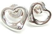 Tiffany&Co. ティファニーオープンハートピアス ミニスターリング シルバー925アクセサリー エルサペレッティ OPEN HEART MINI pierced earring