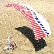 サイバースカイパラシュートラジコン優雅に飛び回るパラグライダープロペラで飛び続けて自由自...