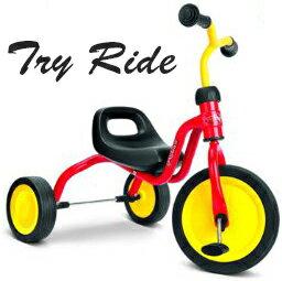 クラシックトライシクル 3輪車レッド×イエロー×ブラッククラシックモダン三輪車子供用ペダルカー&ライドオン持ち手付きシートお孫様への贈り物(プレゼント)にはコレ![乗り物玩具 乗用玩具] TRICYCLE