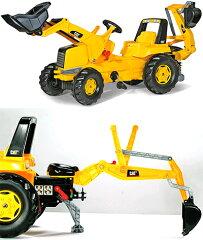 ロリートイズ 乗用玩具 キャタピラージュニアトラック ペダルカー乗り物おもちゃ ドイツ製トイ...