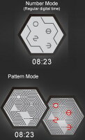 未来系LED腕時計アルミケースメンズウォッチラウンドフェイス余計な装飾をそぎ落として限りなくシンプルにデザインされた時計シルバーブラックブルーグリーンレッドミラー