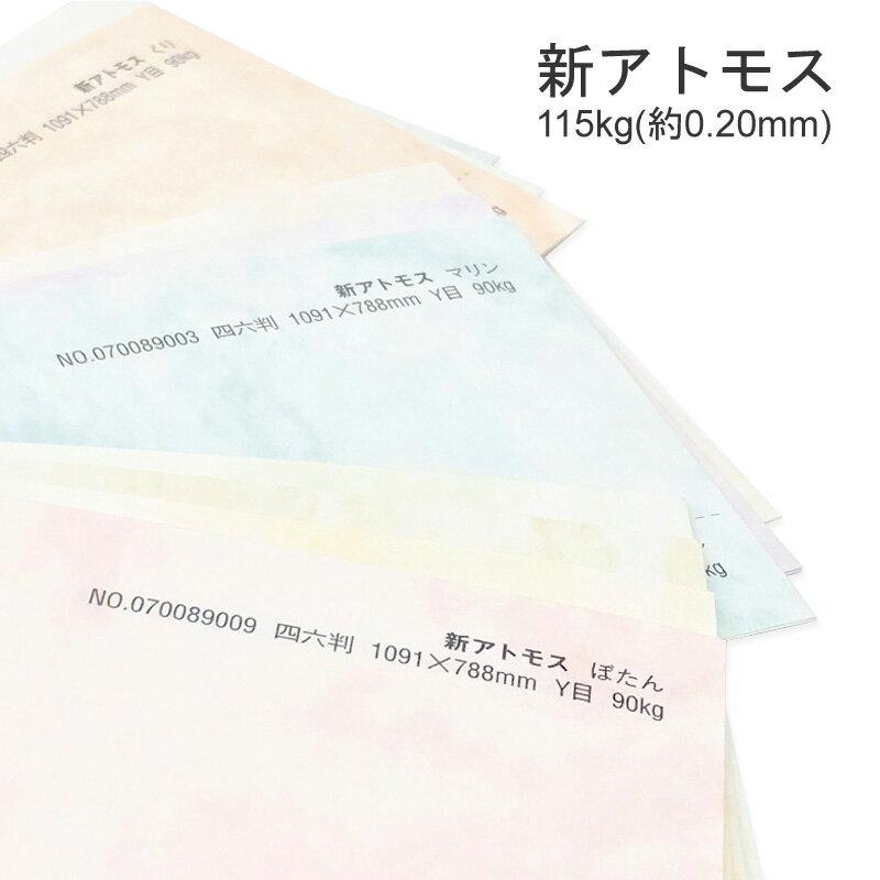 コピー用紙・印刷用紙, 印刷用カラーペーパー  115kg(0.20mm)10