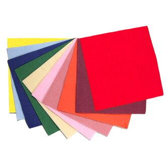 Four color folded napkins 24 cm 2 ply ☆ 100 pieces