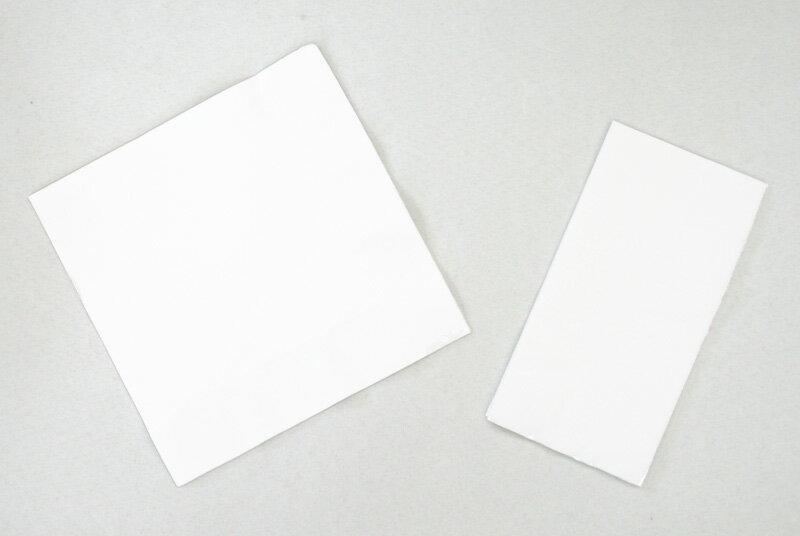 White plain napkins 33 cm 2 ply 3000 copies with ☆☆