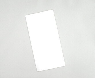 White solid color paper napkins 45 cm 3-ply DCF fold ☆ 1,400 pieces into ☆
