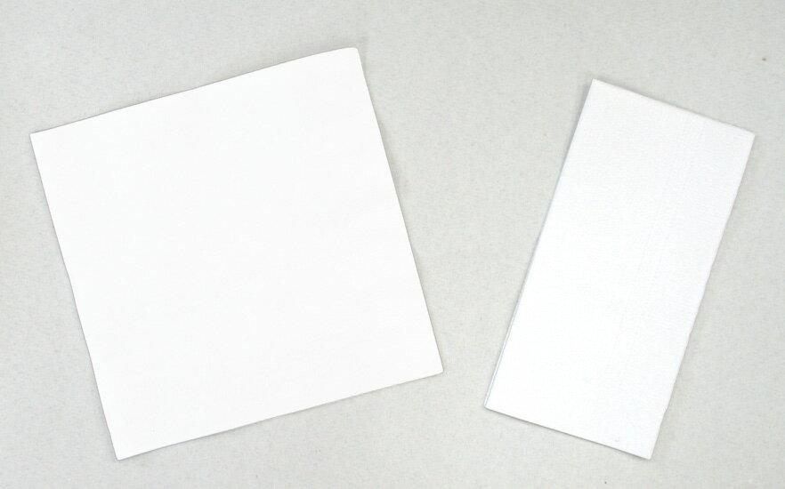 White plain napkins 33 cm single-5000 with ☆☆